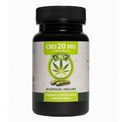 Jacob Hooy  Cbd capsules 20mg